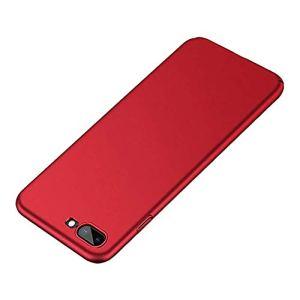 Pouybie Ultra Iphone8Plus Coque Mat téléphone Coque Dropproof téléphone Coque pour Iphone7Plus Poids léger Rouge Anti-Rayures PC Coque de Protection