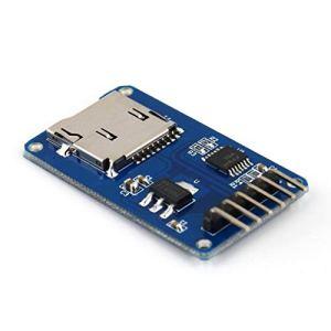 Joycececi Carte mémoire Trans-Flash pour Arduino – Module de mémoire SPI