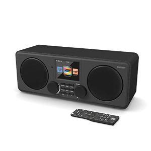 Majority Pembroke II Digital Dab/Dab + / FM et Radio Internet – Bluetooth – Spotify – USB et entrée auxiliaire (Noir)
