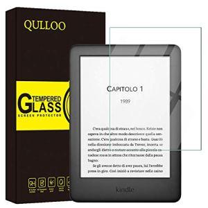 QULLOO Verre Trempé Kindle Paperwhite 2019 Protecteur d'écran Film Protection en Verre trempé écran Protecteur Ultra résistant Glass Screen Protector pour Kindle Paperwhite 2019