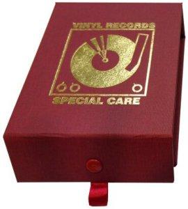 Simplement analogique en Vinyle de Haute qualité kit de Nettoyage en Cuir Rouge