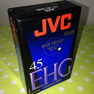 JVC EC45 EHG Bandes en Blanc