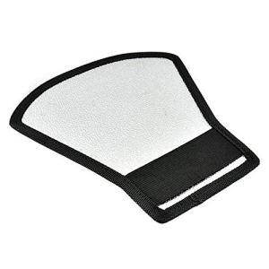 Appareil Photo Universel Diffuseur Flash Softbox Réflecteur Argent et Blanc Appareil Photo Reflex Studio de Photographie Accessoires – Noir & Argent
