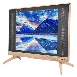 Mini TV LCD portable 24 pouces,Haute résolution 1366×768,Haut-parleur de graves super intégré,Moteur de traitement de la qualité d'image HD,TV Premium dotée d'une meilleure technologie,110V-240V(EU)