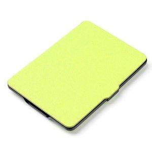 Xuxuou EasyAcc Kindle Paperwhite Housse,Etui Liseuse Kindle Paperwhite Ultra-Mince Etui,Amazon – Étui en Cuir pour Kindle Paperwhite1/2/3 (Vert)