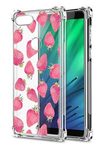 Oihxse Transparent Silicone Mignon Case Compatible pour Xiaomi Redmi Note 8T Coque TPU Souple Ultra Mince Housse Clear Crystal Design Motif Anti-Scrach Protection Etui Bumper (A11)