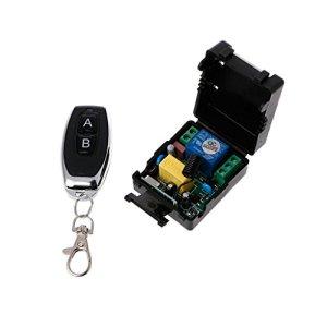 siwetg AC 220V 10A 1CH RF 433 MHz Télécommande récepteur + émetteur 3