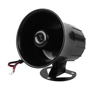 Système d'alarme Sirène intérieure de klaxon pour 115dB Ignifuge 115dB de système de Protection de sécurité à la Maison.DC 12V.