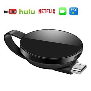 Adaptateur d'affichage sans fil HDMI, clone de récepteur de bâton de télévision Tv Buddy, prise en charge Airplay DLNA Miracast, compatible avec les smartphones iOS/Android
