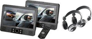 AEG – DVD 4552 – Lecteur DVD portable – Écran LCD 9″ (22,86 cm) – DVD+RW – Lecteur SD – Noir