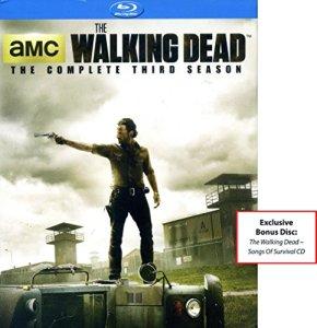 Ancre baie Entertainment The Walking Dead–The Complete Third Season Disques Blu-ray avec Bonus exclusif