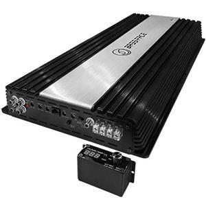 BASS Face DB1.6 DB 1.6 amplificateur monophonique de 5500 Watts rms à 1 ohms pour Utilisation spl et compétitions de Voiture Audio en Classe d avec contrôle à Distance de subwoofer Inclus