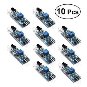 BESTOMZ 10pcs Capteur Infrarouge Arduino Module de capteur d'obstacle pour Arduino Smart Car Robot