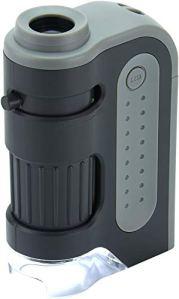Carson Micro Brite Plus 60-120x Microscope de Poche avec LED d'eclairage