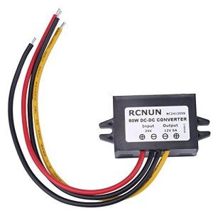 DC24 V à 12 V 5 A 60 W Step Down Convertisseur Buck Module régulateur de tension étanche IP68