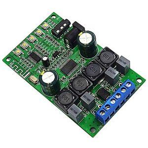 Domilay 5.0 RéCepteur Audio Module sans Fil TPA3118D2 30W + 30W Carte Amplificateur StéRéO pour Amplificateur de Puissance de Voiture 12V 24V