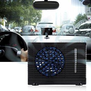 Garsent Climatiseur de Voiture, 12V Mini Climatiseur de Refroidissement Automatique avec la Prise Allume-Cigare Ventilateur de Refroidissement à Faible Bruit.
