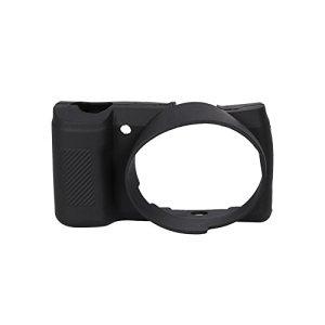 Housse de Protection en Silicone Souple et légère pour boîtier de caméra pour Sony A5100 / A5000 (Color : Black)