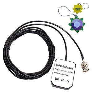 HQRP Antenne GPS pour Garmin GPSMAP 225 / 230 / 232 / 235 Soundeur / 238 Soundeur / 276C / 295 + HQRP Mètre du soleil