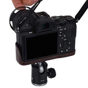 Jadpes Tête de Montage à rotule, Rotation à 360 ° Mini rotule à rotule 1/4″Support de Montage à vis pour caméscope