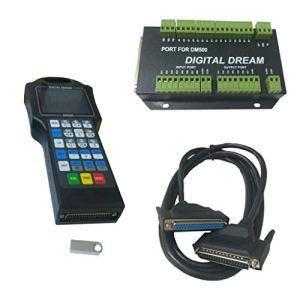 kesoto 1 Ensemble De Système De Commande CNC DSP – Contrôleur avec Carte D'interface DM500 – T3