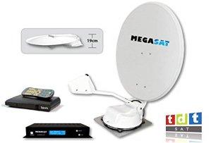 Kit pour Ver La TNT espagnole par satellite pour véhicules