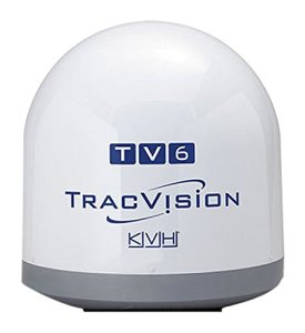 Kvh 1050-01214 tracp Smartphone v7ip Tracvision Antenne TV6 Dom