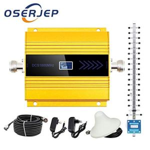 LCD Display GSM Repeater 1800Mhz 4G Cellular Mobile Phone Signal Amplifier Booster Repeater Cell Signal Amplifier