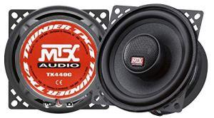 MTX Haut-parleurs coaxiaux 2 Voies TX440C – 10 cm – 60 W
