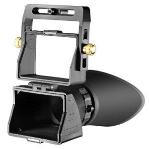 Neewer Viseur de Caméra Universel 2,5× Grossissement pour Ecrans de 3 pouces et 3,2 pouces avec Affichage LCD pour Canon, Nikon, Sony, Olympus, Pentax Appareil Photo DSLR