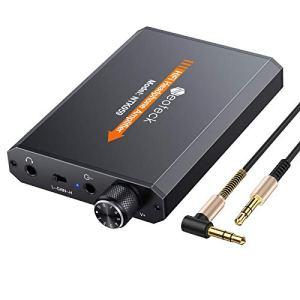 Neoteck Amplificateur pour casque Portable 3.5mm Audio Rechargeble HiFi Écouteur Amplificateur pour Casque avec Batterie au Lithium et Surface Mate en Aluminium