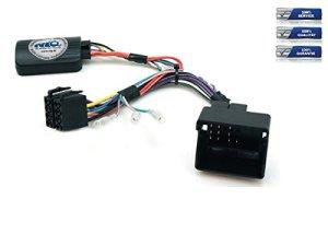 NIQ CAN-BUS Adaptateur de commande au volant pour autoradio JVC compatible avec Peugeot 207 / 208 / 307 / 407 / 807 / 308 / 3008 / 5008 / Partner / Expert / RCZ