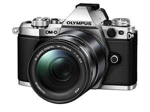 Olympus OM-D E-M5 MARK II 14-150 / 4,0-5,6 M.zuiko Digital ED II Silver Appareils Photo Numériques 17.2 Mpix
