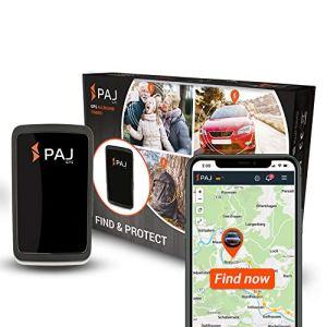 PAJ GPS Allround Finder avec Environ 20 Jours d'autonomie (jusqu'à 60 Jours en Mode Veille), système de localisation en Temps réel pour la Voiture, Les Personnes