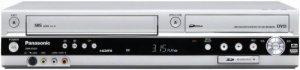 Panasonic Dmr-es45vs Lecteur/enregistreur de DVD/VCR Combo avec HDMI, Carte SD, entrée et DV, Argent