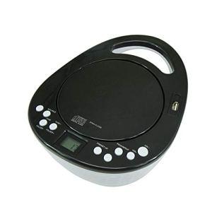 Portable CD, MP3 U Disque Étudiant Apprentissage fœtal Joueur Education, Soutien Président Mp3 Disc prénatal Machine éducation,Noir