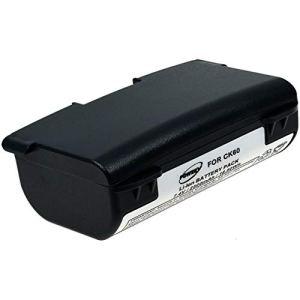 Powery Batterie pour Le Lecteur de Codes-Barres Intermec CK60, 7,4V, Li-ION [ Batterie pour Lecteur de Code-Barre ]
