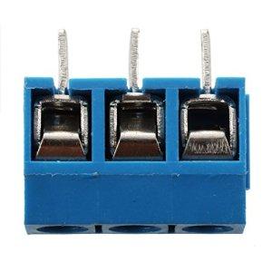 REFURBISHHOUSE 5 Pcs 3 Position PCB Monture connecteur Terminal Bloc 16A