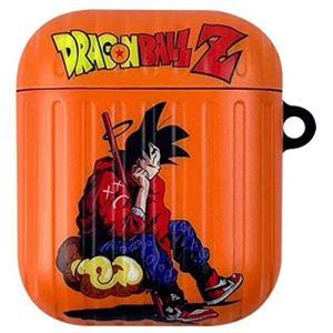 Saicowordist – Coque de protection universelle pour Airpods – Dragon Ball Piccolo Son Goku avec dessin animé Airpods 1/2-son Goku