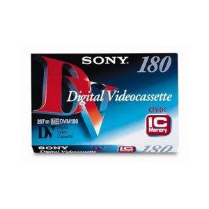 Sony Cassette DV pour caméscope Avec IC Memory Grand format 180 mn DV180 IC