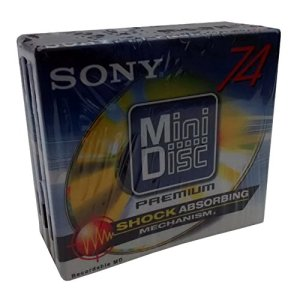 Sony Premium MiniDisc 74Minute–Mdw-74d (lot de 4)