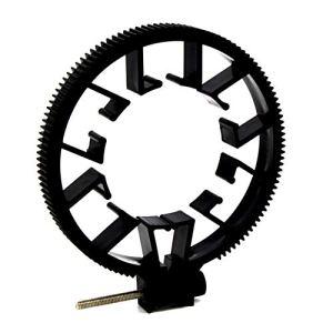 Taille Portable Universel 0.8 Module Suivre Focus Gear Ring Réglable ABS Suivre Focus Gear Ring Ceinture pour Objectif DSLR 55-65MM – Noir