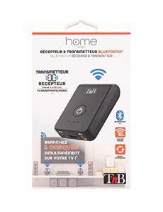 T'nB Adaptateur Bluetooth 2 en 1 – Récepteur et Transmetteur