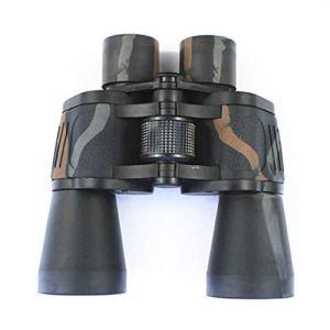 Ueccicou Jumelles HD: Vision Nocturne des Oiseaux de Basse lumière Observant Le télescope de Camouflage pour Une Utilisation en extérieur (Couleur : Noir)