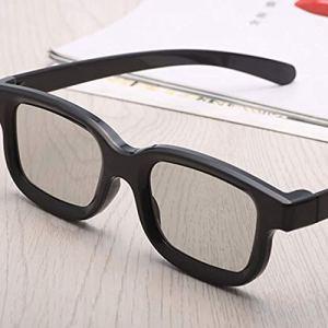 vbncvbfghfgh Universal Unisex ABS Frame 3D Movie Glasses Stereo Not Flash for 3D TV Cinemas