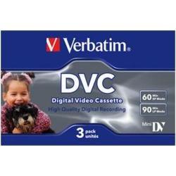 Verbatim 47651 Mini DV Pack de 3 60 mn