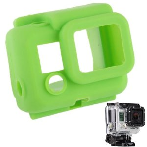 YOOW Cas de l'appareil Photo Nouvelle Protection en Silicone for GoPro HERO3 (Vert) (Color : Green)