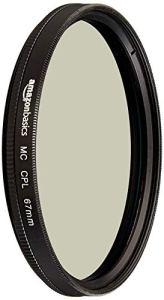 AmazonBasics Filtre polarisant circulaire – 67mm