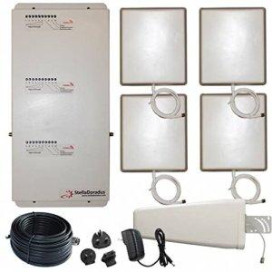 Amplificateur répéteur LTE stellaoffice Tri Band GSM DCS UMTS 4000m² Yagi