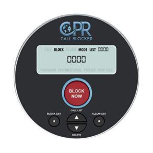 CPR V10000 – 2 bloqueurs d'appels en 1. Bloquez tout, sauf les numéros que vous voulez ou bien bloquez seulement les numéros que vous n'aimez pas. Débloquez facilement